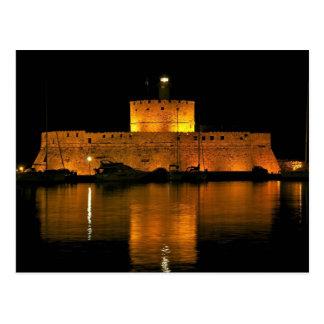 Fortaleza de San Nicolás - Šibenik, Croacia Tarjeta Postal