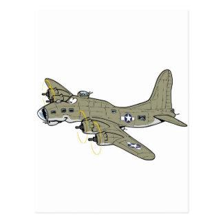 Fortaleza del vuelo B-17 Tarjeta Postal