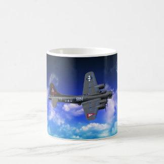 Fortaleza del vuelo B-17 Taza