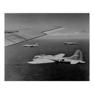 Fortalezas del vuelo B-17 Impresiones