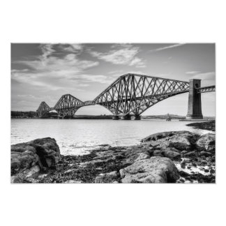Forth Bridge from South Queensferry Photo Print