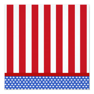 Forth Of July Party Invitations