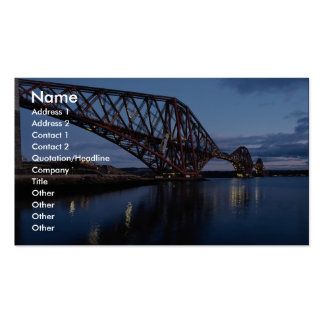 Forth Rail Bridge Double-Sided Standard Business Cards (Pack Of 100)