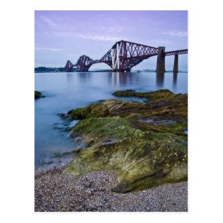 Forth Rail Bridge Postcard