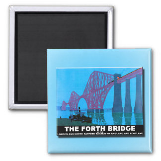 Forth Road Bridge Magnet