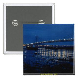 Forth Road Bridge night Pins