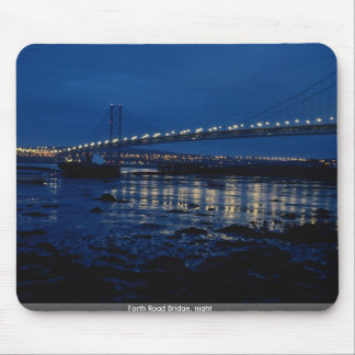 Forth Road Bridge night Mouse Pads
