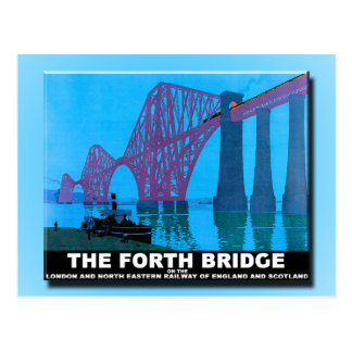 Forth Road Bridge Postcard