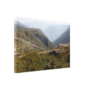 franwestphotography Forth Valley, Tasmanian wilderness Canvas Print