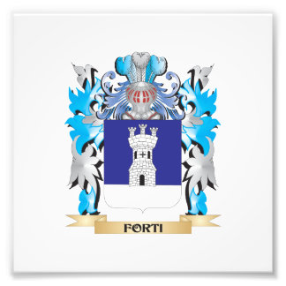 Forti Coat of Arms - Family Crest Photo Print
