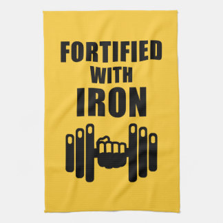 Fortificado con hierro toallas