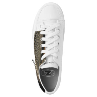 Fortified Athletics Custom Zipz Low Top Shoes