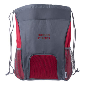 Fortified Athletics Draw String Back Pack Drawstring Backpack