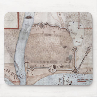 Fortified Encampment, Puerto Rico Mouse Pad