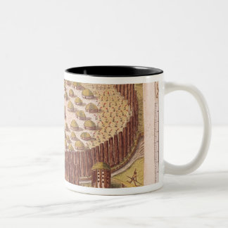 Fortified Indian Village, from 'Brevis 2 Mug