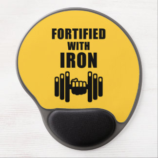 Fortified With Iron Gel Mouse Pad