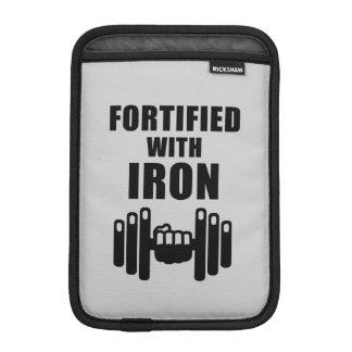 Fortified With Iron iPad Mini Sleeve