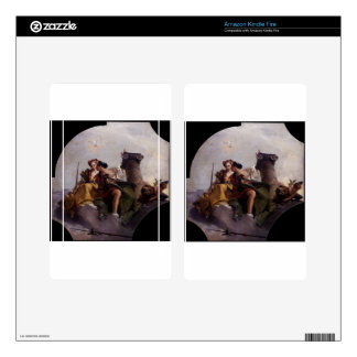 Fortitude and Justice by Giovanni Battista Tiepolo Kindle Fire Decal