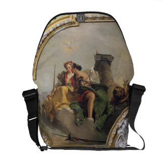 Fortitude and Justice, from the 'Sala Capitolare' Messenger Bags