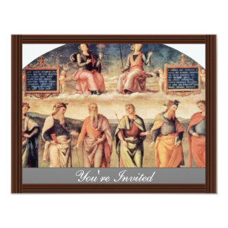 Fortitude And Temperance With Ancient Heroes Personalized Invites