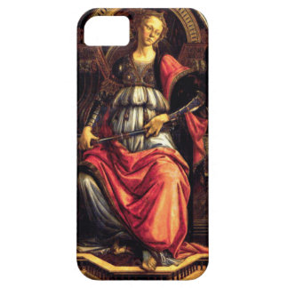 Fortitude by Sandro Botticelli iPhone SE/5/5s Case