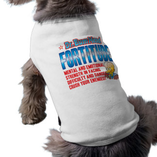 FORTITUDE Dr Bum Head Doggie Tee
