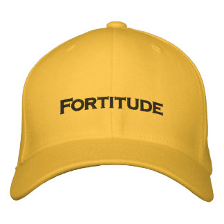 Fortitude Embroidered Hat