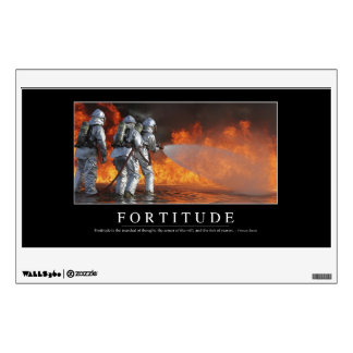Fortitude: Inspirational Quote Wall Sticker