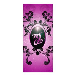 Fortitude, rune 4x9.25 paper invitation card