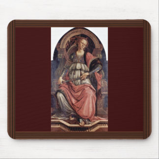 Fortitudo By Botticelli Sandro Best Quality Mousepad