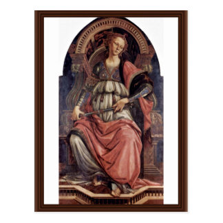 Fortitudo By Botticelli Sandro (Best Quality) Postcard