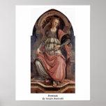 Fortitudo de Sandro Botticelli Impresiones