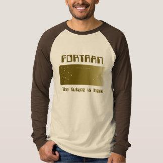 FORTRAN - El futuro está aquí Remeras