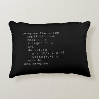 Fortran Source Code Accent Pillow