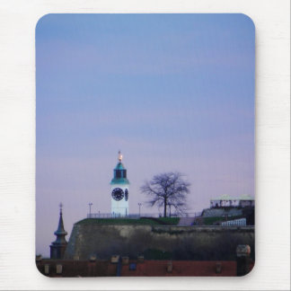 fortress clocktower mouse pad