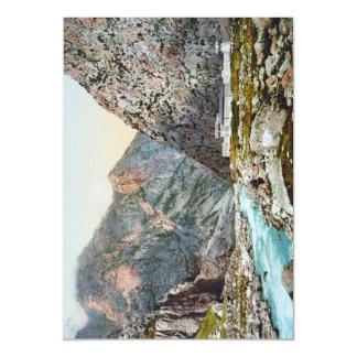 Fortress in the Dariel Ravine, Caucasus, Russia Magnetic Card