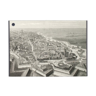 Fortress Lille French Aerial View Vintage Historic Cases For iPad Mini