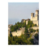 Fortress of Città di San Marino, Italy Custom Invites