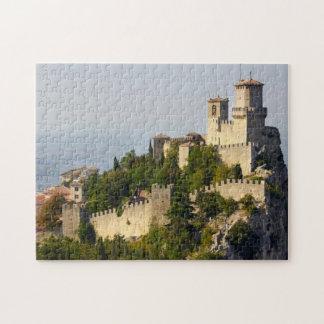 Fortress of Città di San Marino, Italy Jigsaw Puzzle