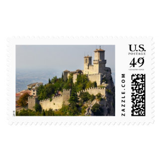 Fortress of Città di San Marino Italy Stamp
