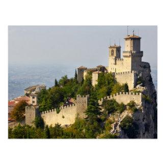 Fortress of Città di San Marino, Italy Postcard