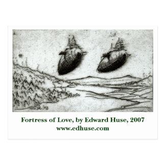 Fortress of Love, by Edward Huse, 2007 www.edhu... Postcard