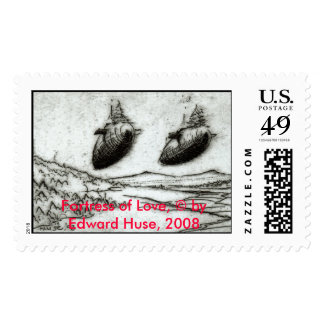 Fortress of Love, by Edward Huse, 2008 Stamp