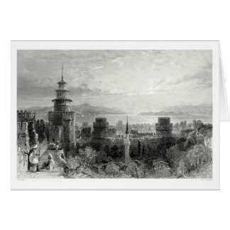 Fortress of the Seven Towers Greeting Card