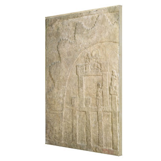Fortress under Siege, from Nimrud, Iraq Gallery Wrap Canvas