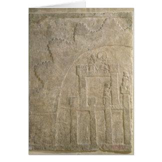 Fortress under Siege, from Nimrud, Iraq Greeting Card