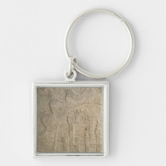 Fortress under Siege, from Nimrud, Iraq Keychain