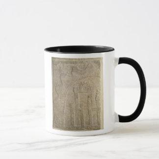 Fortress under Siege, from Nimrud, Iraq Mug