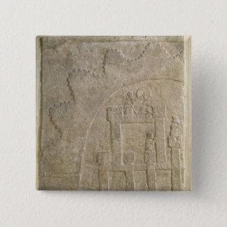 Fortress under Siege, from Nimrud, Iraq Pinback Button