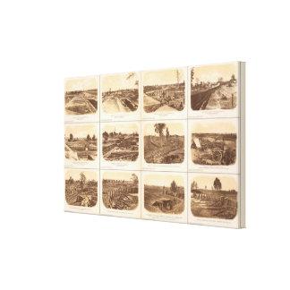 Forts, batteries, Atlanta, Ga Canvas Print